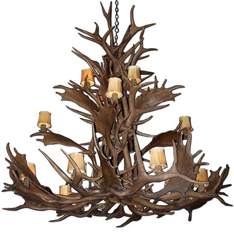 moose antler chandelier moose antler chandelier reproduction home design ideas