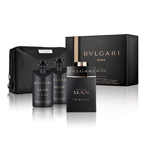 Bvlgari In Black Set bvlgari in black premium gift set