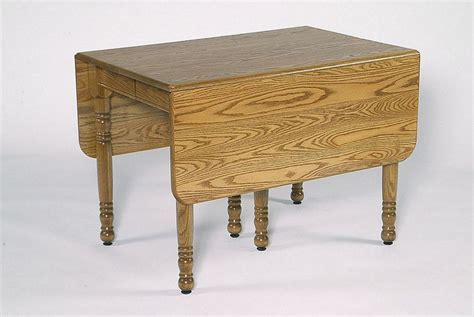 Rectangular Small Drop Leaf Table from DutchCrafters Amish