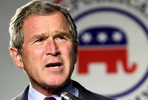 george bush party what s going on report says bush white house violated
