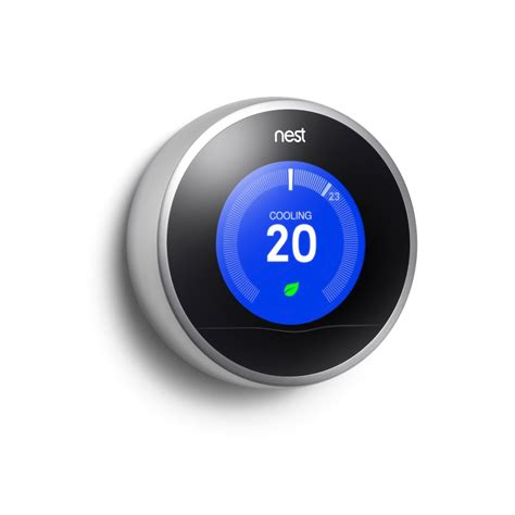 nest learning thermostat 2nd the home depot canada