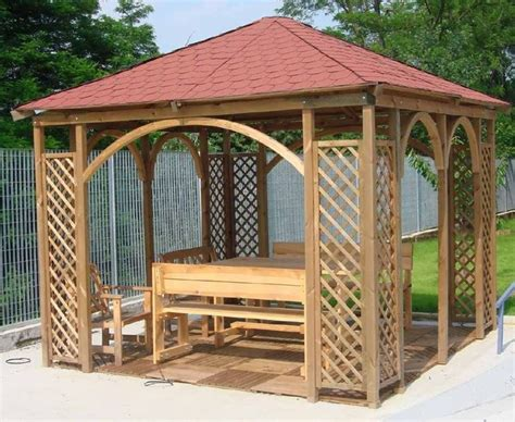 costruire un gazebo in legno gazebo fai da te arredamento per giardino gazebo fai