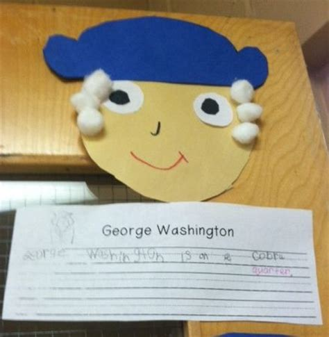 george washington crafts for george washington craft and writing teach social