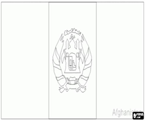 flags of countries of asia coloring pages printable games