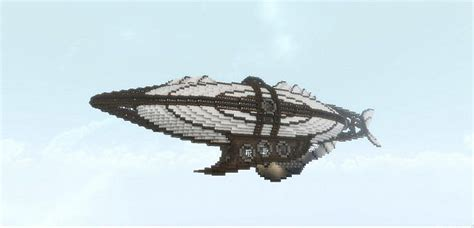 minecraft flying boat command the dawntreader steunk airship minecraft project