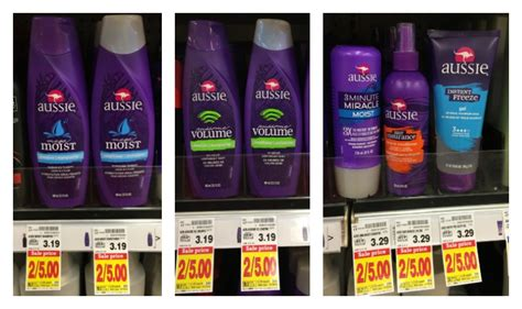 kroger mega sale herbal essences hair care only 0 69 aussie or herbal essences hair care only 0 50 at kroger