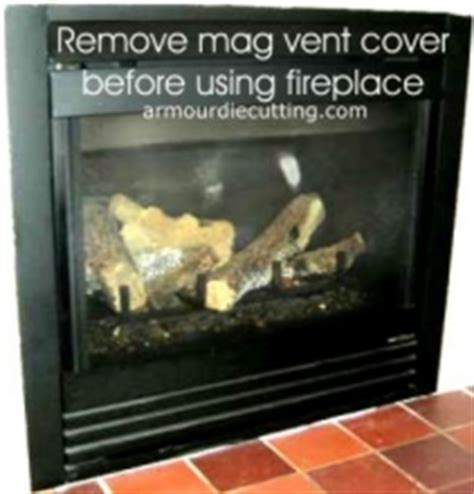Magnetic Fireplace Vent Cover by Magnetic Vent Covers Custom Orders Welcome Fireplace
