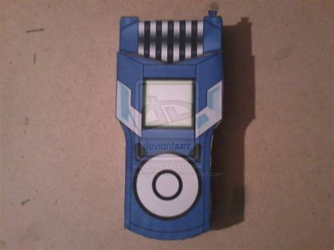 Digivice Papercraft - christopher s fusion loader digivice papercraft by