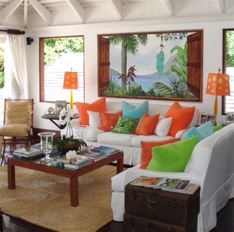 Tropical Living Room Decorating Ideas Contemporary Vs Traditional Interior Home Styles In Doylestown
