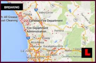 carlsbad 2014 map today california fires strike