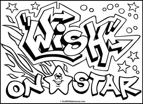 Graffiti Coloring Pages Names coloring pages graffiti az coloring pages
