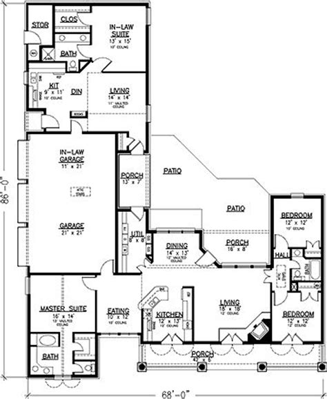 one story garage apartment plans like the separate apartment and 3 car garage floor plans
