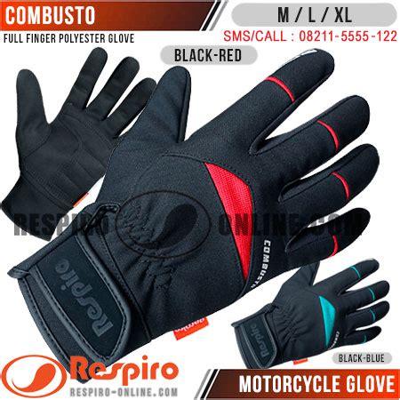 Sarung Tangan Jari Black Eagle Glove Sepeda Motor Pria T0210 1 sarung tangan respiro combusto respiro