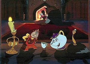 list of disney's beauty and the beast characters wikipedia