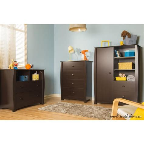 south shore changing table espresso south shore beehive 2 drawer espresso changing table