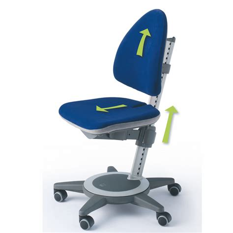 maximo adjustable desk chair lime green