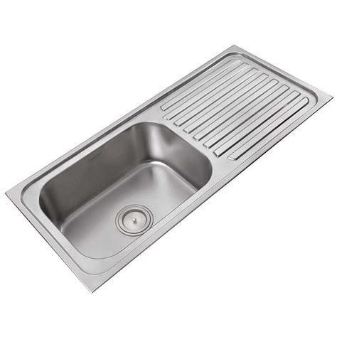 Buy Anupam Stainless Steel Single Bowl Sink With