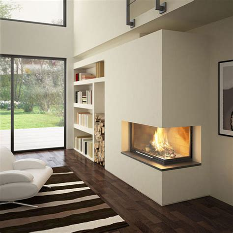 Modern Corner Fireplaces by Corner Fireplace Dilemma Moky And Marisa
