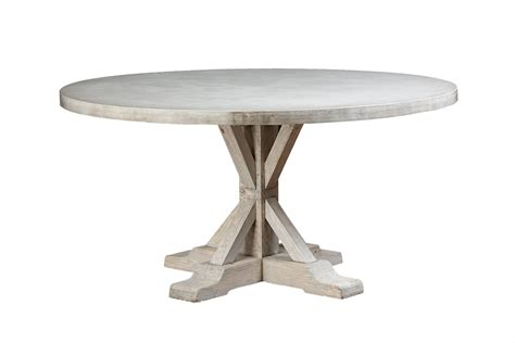 60 inch round concrete table round 60 concrete and elm dining table mecox gardens