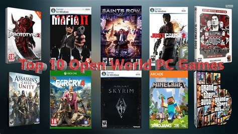 10 best pc top 10 best open world pc until 2015