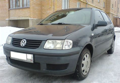 volkswagen polo 2000 2000 volkswagen polo pictures 1400cc gasoline ff
