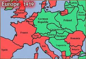 Europe Map 1919 by Maps Europe Map 1919