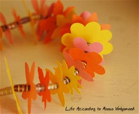 How To Make Paper Leis - crafting with how to make a paper