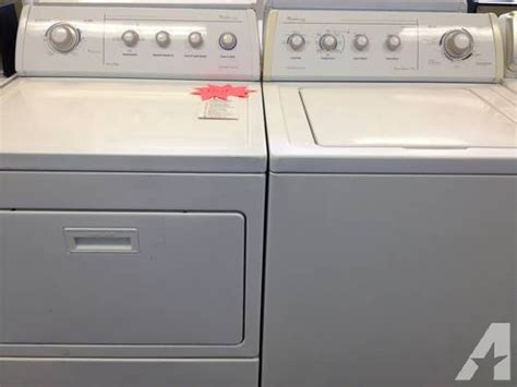 used washer and dryer sets whirlpool gold washer dryer set pair used for sale in tacoma washington classified