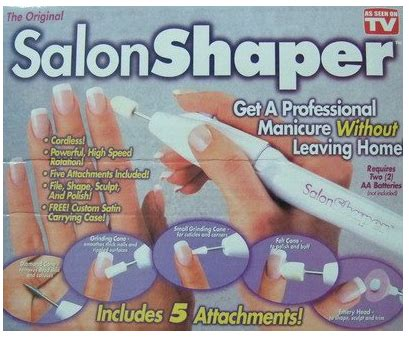 Alat Manikur Pedikur Salon Shaper As On Tv alat manicure dan pedicure 5 in 1 salon shaper