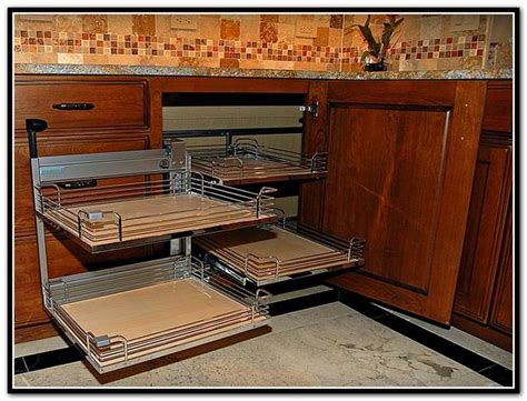 ideas for stylish and functional kitchen corner cabinets best 25 corner cabinet storage ideas on pinterest