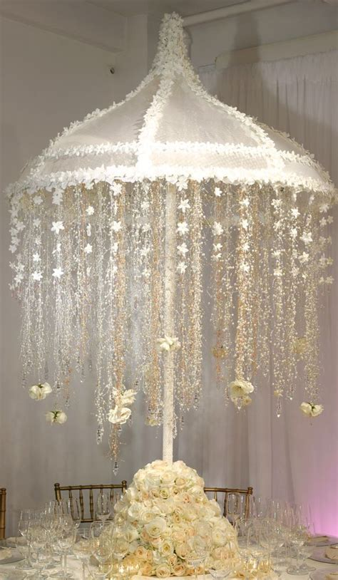 wedding reception chandeliers centerpiece