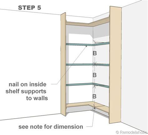 built  corner bookshelves diy