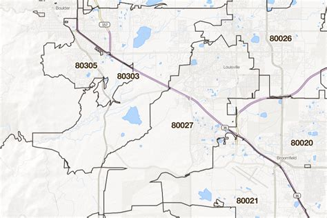 zip code maps usps denver colorado printable u s zip code boundary maps