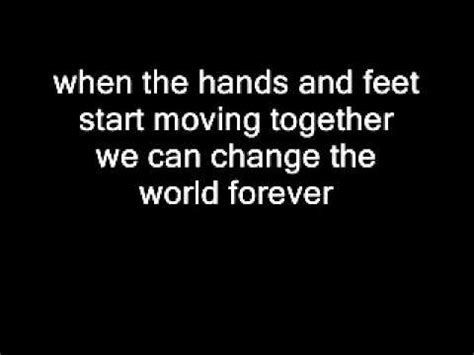 Obsession Can Change The World by Hawk Nelson We Can Change The World With Lyrics
