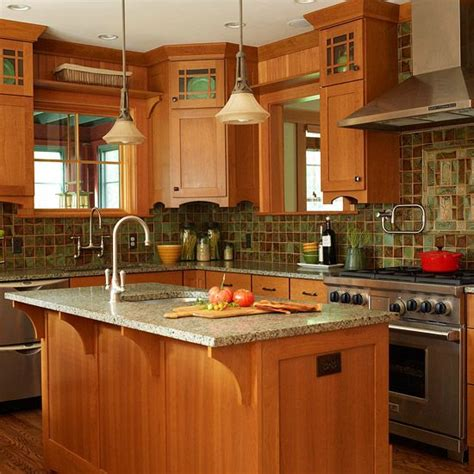 arts and crafts kitchen design updated arts crafts kitchen pinterest