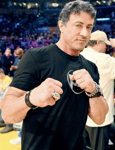 Sylvester Stallone can still pack a punch at 68   Life and style