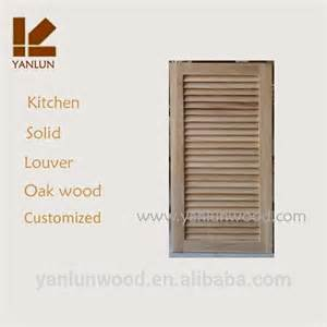 Kitchen Cabinet Doors Louvered » Home Design 2017
