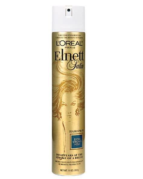 the best hairspray for fine hair editors picks hair on the brain 187 l or 233 al elnett satin hairspray