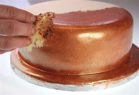 metallic cake finish cake it to the max