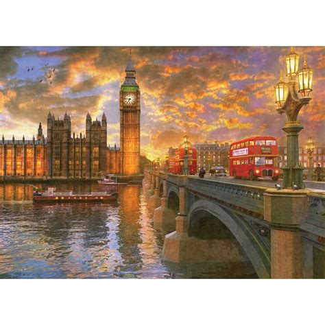 Jigsaw Puzzle Sunset On Llight 1000 westminster sunset 1000 holdson jigsaw puzzle