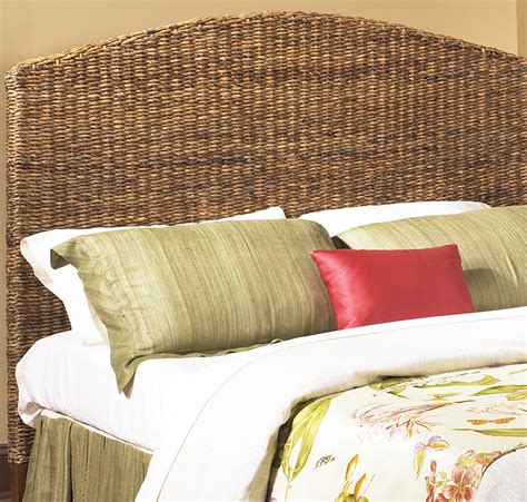 king rattan headboard seagrass headboard king size wicker paradise