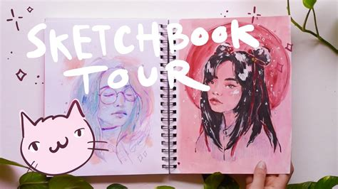 sketchbook yt sketchbook tour january march 2017