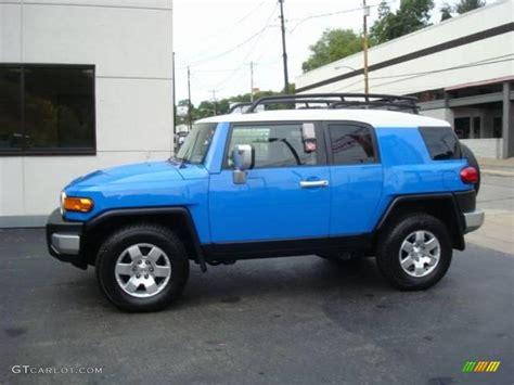 blue toyota fj cruiser 2007 voodoo blue toyota fj cruiser 4wd 17904752