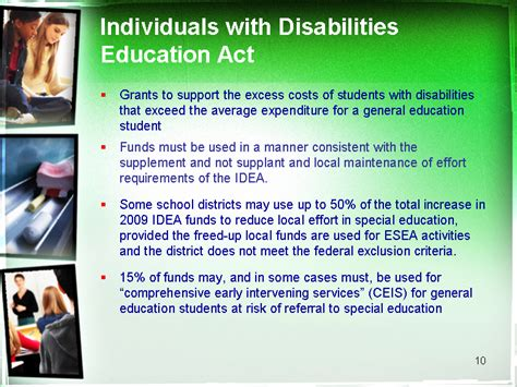 pin individuals with disabilities education act of 1990 on