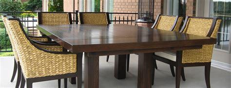 table comptoir bloc de boucher et il 244 t en bois massif