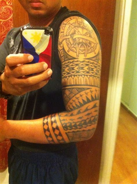 filipino polynesian tribal tattoo tattoo pinterest