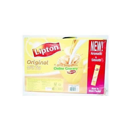 Milk Tea Diary Ready Stock lipton original milk tea 3 in 1