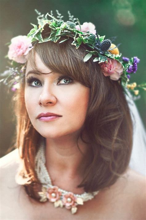 515 Best images about Flower Headdress & Crowns on