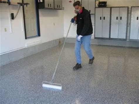 houston garage floor painting   paint  garage floor  epoxy youtube