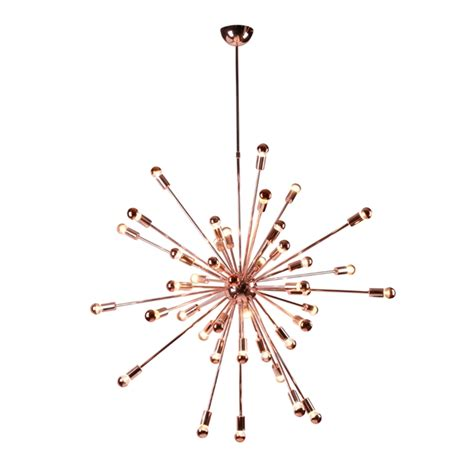 Small Sputnik Chandelier Sputnik Rose Gold Chandelier Modern Furniture Brickell